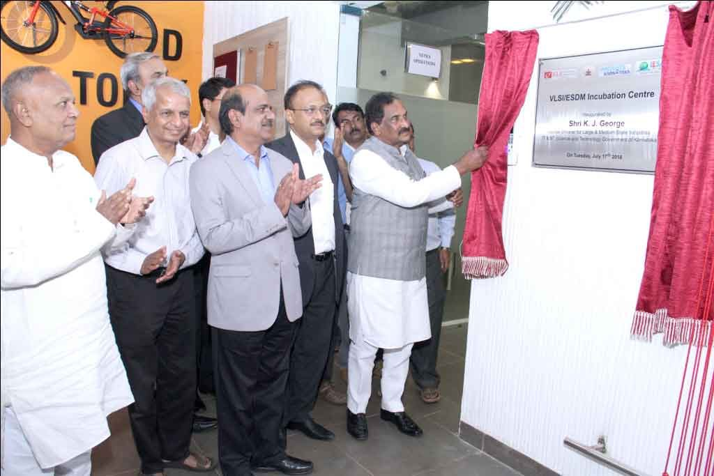 ESDM / VLSI Incubation Centre at KLE Technological University