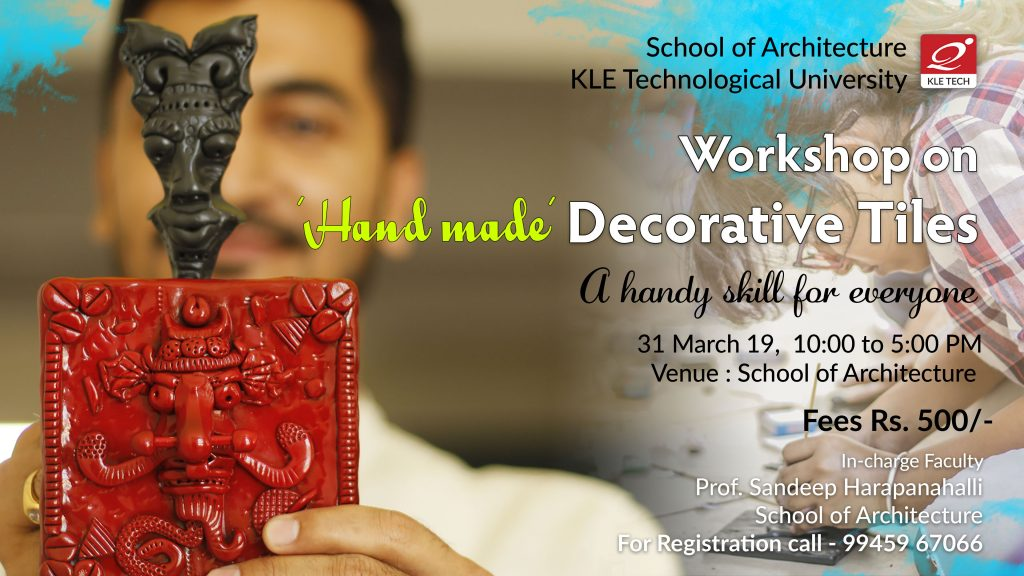Workshop on Handmade Decorative Tile