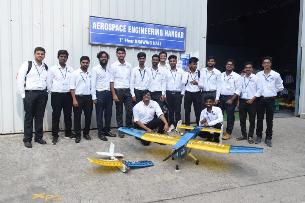 Team aeroKLE tops the country in SAE India Aero Design challenge 2019